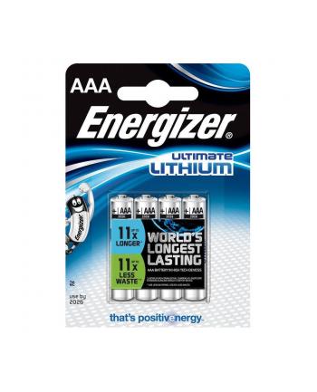 Bateria Energizer Lithium AAA L92 /4 szt.