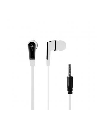 Art słuchawki douszne z mikrofonem białe smartphone/mp3/tablet  S2A