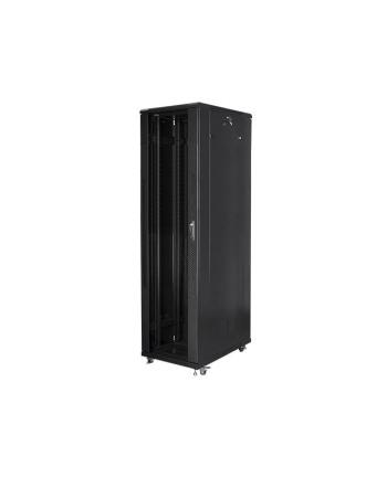 Lanberg szafa instalacyjna stojąca 19'' 47U/800x1000mm czarna (drzwi szklane)