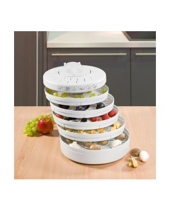 Suszarka do grzybów  owoców i ziół Clatronic DR 2751 (250W biała)