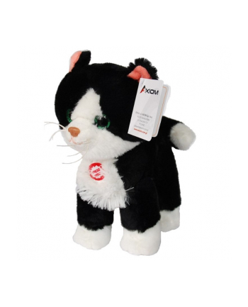 AXIOM Kot Cykor z dźwiękiem czarny