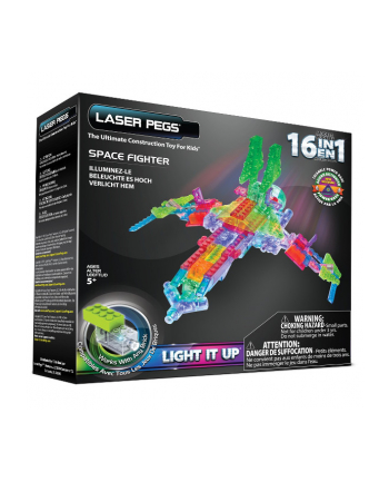 LASER PEGS 16 in 1 Space Fighter