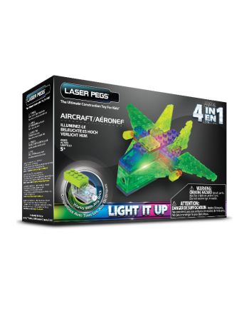 LASER PEGS 4 in 1 Aircraft