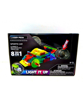 LASER PEGS 8 in 1 Sports Car