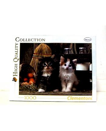 CLEMENTONI 1000 EL.  Lovely Kittens
