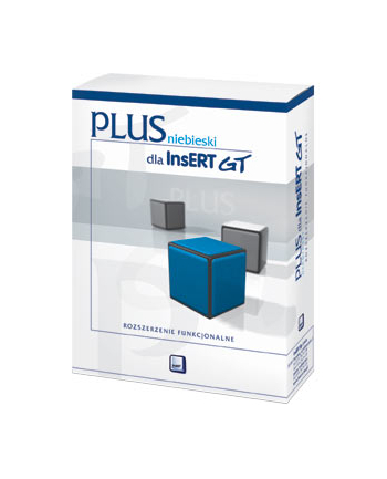 Program InsERT - niebieski PLUS dla InsERT GT