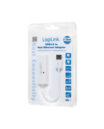 Adapter Fast ethernet USB2.0 do Rj-45