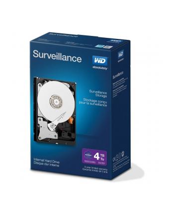 Western Digital Dysk twardy WD Desktop Surveillance,3.5'', 4TB, SATA/600, 64MB cache