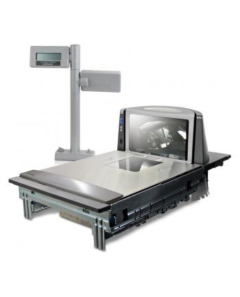 Datalogic ADC MAGELLAN 8400 SCANNER Magellan 8400, Scanner, Short Platter, Sapphire Glass, Shelf Mount, Europe (No display, cable or power supply)