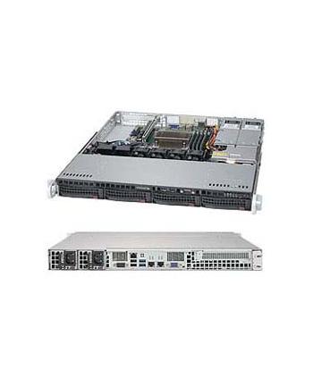 SUPERMICRO 1U BARE 1XEON V5 C236 4X3.5 400WR 64GB SATA3 2GBE 1PCIE M.2  IN
