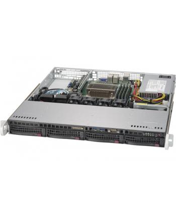 SUPERMICRO 1U BARE 1XEON V5 C236 4X3.5. 350W 64GB SATA3 2GBE 1PCIE M.2   IN