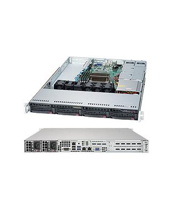 SUPERMICRO 1U BARE 1XEON V5 C236 4X3.5 500WR 64GB SATA3 2GBE 3PCIE M.2  IN