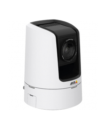 AXIS V5915 50HZ < EUR > Generic PTZ camera with 30x zoom, autofocus and HDTV 1080p resolution at 50/fps for live streaming of video and audio. Video conference design, smooth pan and tilt, WDR, EIS. HDMI, 3G-SDI, XLR-3  for studio connectivity.