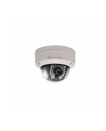 LevelOne FIXED DOME NETWORK CAMERA 2MP 802.3AF POE OUTDOOR VP IR LEDS   IN