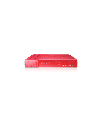 Watchguard FIREBOX T10-W + 1Y LIVESEC 200/30/70/80/55 Mbps throughput (Firewall/VPN/AV/IPS/UTM), 10 VLANs, 1000 con/sec, 3x 10/100/1000, 1 SRL/1 USB,