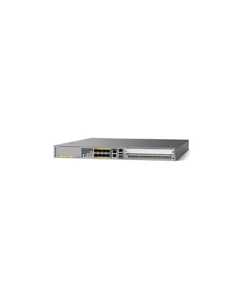 CISCO ASR1001-X CHASSIS 6 BUILT-IN GE DUAL P/S 8GB DRAM  IN