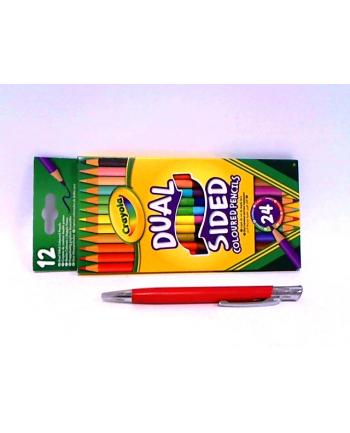 CRAYOLA Dwustronne kredki ołówkowe