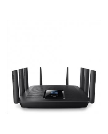 LINKSYS EA9500 MAX-STREAM Tri-Band (5 GHz + 5GHz + 2.4 GHz), 802.11 a/b/g/n/ac, 8x Gigabit LAN ports, 1727.7g