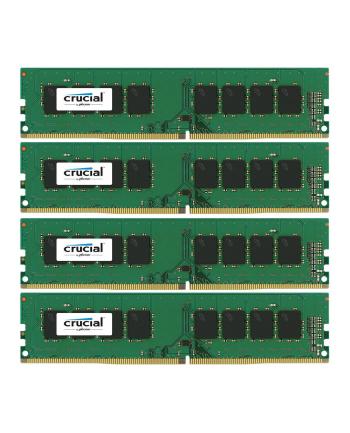 Crucial DDR4 32GB/2400(4*8GB) CL17 SR x8 Unbuffered DIMM 288pin