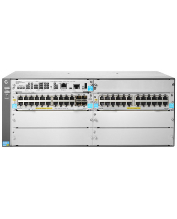 Hewlett Packard Enterprise ARUBA 5406R 44GT PoE+/4SFP+ v3 zl2 Switch JL003A - Limited Lifetime Warranty