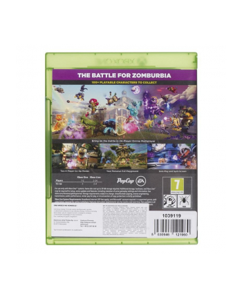 Gra Xbox One Plants vs Zombies Garden Warefare 2