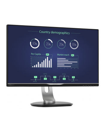 Monitor Philips 258B6QUEB/00 25inch, panel IPS, WQHD, D-Sub/DVI/DP