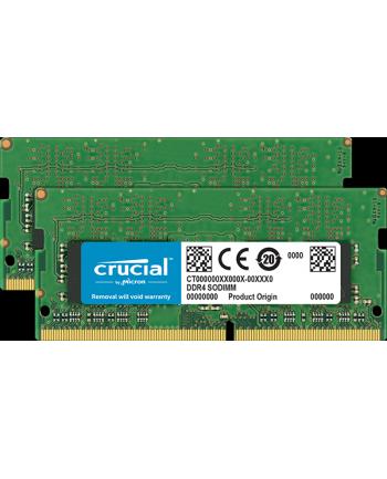 Crucial 2x8GB DDR4 SODIMM 2400MHz CL17 1.2V