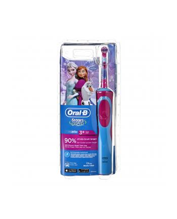 Braun Oral-B Stages Power Frozen Blue Pink