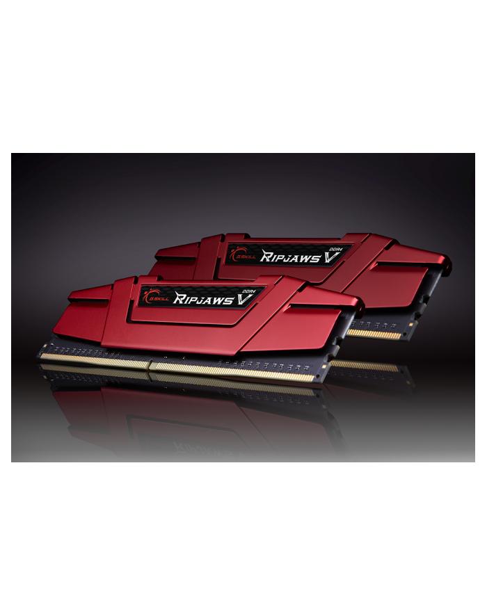 G.Skill DDR4 16GB 3200-15 Ripjaws V Red Dual