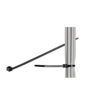 Opaski na kable 200x3.5mm black 100 sztuk