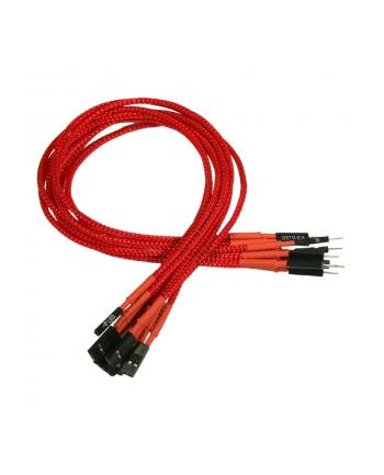 Nanoxia przedłużacz do power i reset 30 cm red