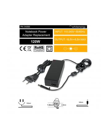 WHITENERGY ZASILACZ 18.5V/6.5A WTYK 7.4x5.0mm+pin