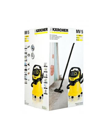 Odkurzacz Karcher WD 5 (1.348-191.0) (z workiem lub bez 1100W czarno-żółty)