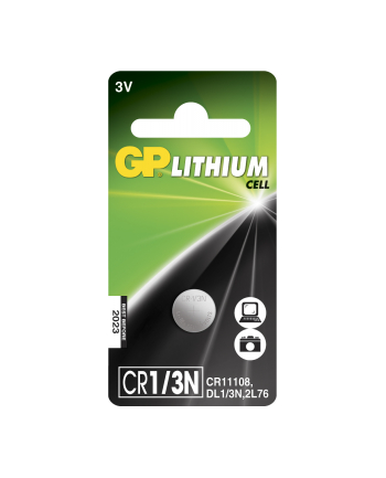 GP Battery GP Bateria guzikowa CR1/3N blister 1szt.