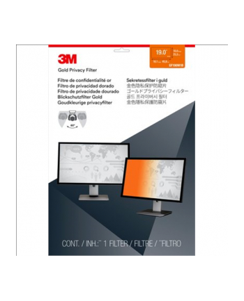 3M GPF19.0W GOLD DESKTOP 48.3 cm (19'')/ Wide (15:9/16:9/16:10)/ LCD/ Farbe: gold