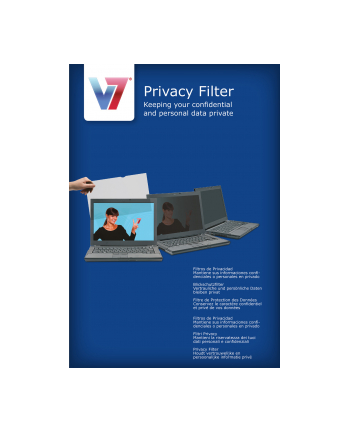 V7 PRIVACY FILTER 21.5IN 16:9 V7 Blickschutzfilter / Sichtschutzfilter / Privacy Filter / Sichtschutzfolie / Blickschutzfolie/ 54.6 cm (21,5'')/ Wide (16:9)/ LCD/ Farbe: transparent/ 268 mm/ 476 mm