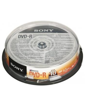 DVD-R Sony 10DMR47SP 4 7GB 16x 10szt. cake