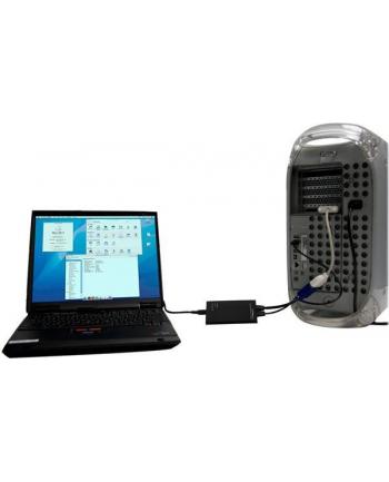 KVM TO USB LAPTOP CRASH CART StarTech.com Tragbarer KVM Konsolen auf USB 2.0 Laptop Adapter