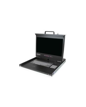 Rackmount LCD Console - 17'' StarTech.com 1 HE Rackmount LCD Konsole mit 2 Port USB Hub - 17in Monitor - 1080p