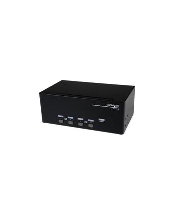 4 PORT DVI USB KVM SWITCH StarTech.com 4 Port Dreifach Monitor DVI USB KVM Switch mit Audio und USB 2.0 Hub - Tripel Monitor KVM Umschalter
