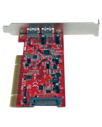 2 PORT PCI USB 3 ADAPTER CARD StarTech.com 2 Port USB 3.0 SuperSpeed PCI Schnittstellenkarte mit SATA-Stromanschluss - 2x USB 3.0 PCI Controller Karte