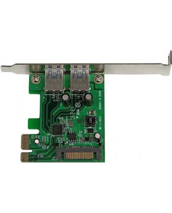 2 PT PCIE USB 3.0 CARD W/ UASP StarTech.com 2 Port PCI Express SuperSpeed USB 3.0 Schnittstellenkarte mit UASP - SATA Strom - 2-fach USB 3 PCIe Karte mit SATA Anschluss