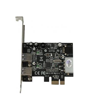 2 PORT PCIE USB 3 CARD W/ UASP StarTech.com 2 Port USB 3.0 PCI Express Schnittstellenkarte mit UASP und 4 Pin LP4 Molex - 2-fach SuperSpeed USB PCIe Karte