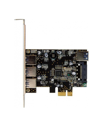4 PORT PCIE USB 3.0 CARD StarTech.com 4 Port PCI Express USB 3.0 Karte - 4-fach PCIe USB 3.0 Schnittstellenkarte - 3 Externe und 1 Interner Anschluss