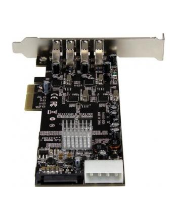 StarTech.com 4 PT 4 CHANNEL PCIE USB 3 CARD .