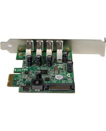 4 PORT PCIE USB 3.0 CARD StarTech.com 4 Port PCI Express USB 3.0 SuperSpeed Schnittstellenkarte mit UASP - SATA Strom - PCIe 4x USB 3.0 mit SATA-Anschluss