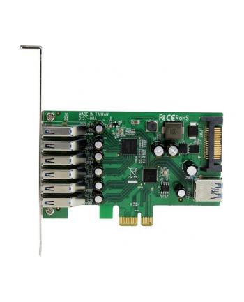 7 PORT PCIE USB 3.0 CARD StarTech.com 7 Port PCI Express USB 3.0 Karte - PCIe USB 3.0 (Super Speed) Schnittstellenkarte / Controller 6 x Extern und 1 x Intern
