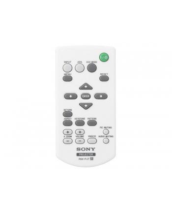 REMOTE CONTROL /VPL-EX175 Sony RM-PJ7, IR Wireless, Press buttons, White, Projector, Sony, VPLEX100