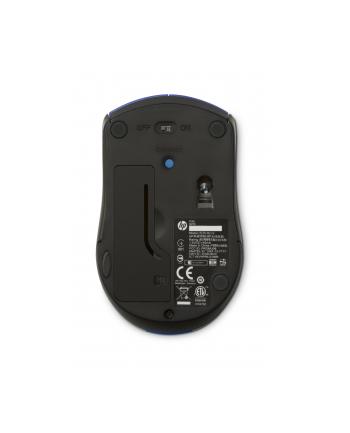 HP Inc. HP X3000 CBLUE WIRELESS MOUSE HP X3000 CBlue Wireless Mouse, RF Wireless, Office, Pressed buttons, Wheel, Optical, Batteries