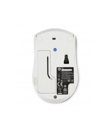 HP Inc. HP X3000 WHITE WIRELESS MOUSE HP X3000 White Wireless Mouse, RF Wireless, Office, Pressed buttons, Wheel, Optical, Batteries